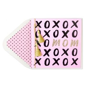 ⚡️5/$30⚡️Papyrus xoxo mom, Valentine's Day card